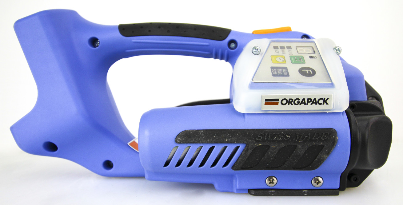 dfa7c70a7c2 Orgapack OR-T 400 Battery Powered Sealless Combination Tool for Plastic  Strapping